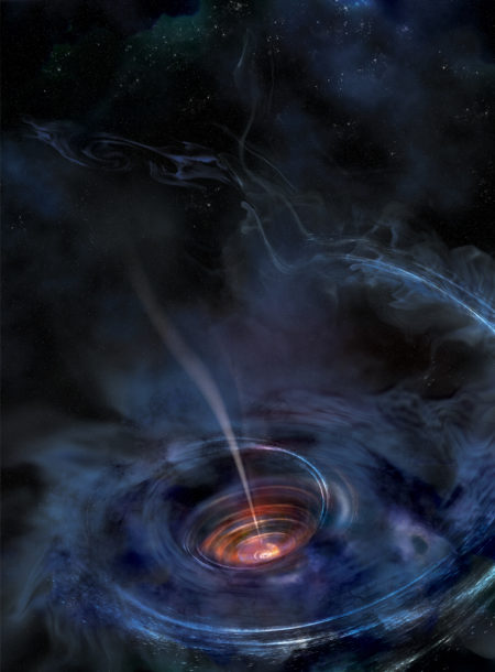 Tidal disruption of a supermassive black hole